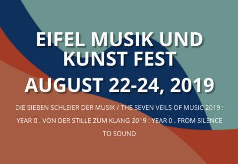 22-24 Aug 2019: EIFEL Music Festival, Cologne, Germany
