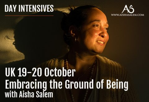 19-20 Oct 2019: Embracing the Ground of Being, UK